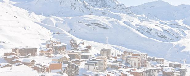 Les conditions météorologiques ne permettent pas d'ouvrir la station et le domaine skiable de Val Thorens le 21 novembre 2015 - Photo : Val Thorens