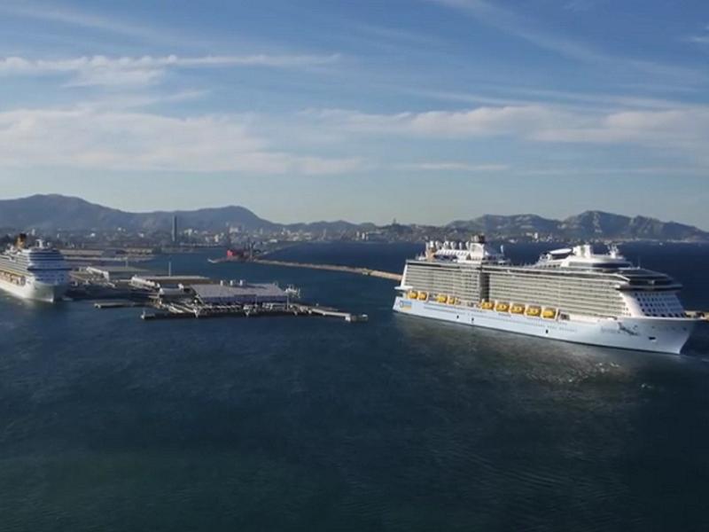 Après les attaques de Paris, le port de Marseille prend des mesures pour renforcer la sécurité des passagers et des navires de croisière - Photo : Club de la Croisière Marseille Provence