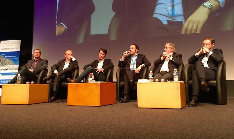 Les participants au débat La chaîne producteurs - distributeurs - clients va-t-elle perdurer ? DR-JDL