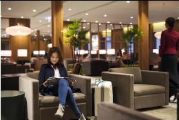 Le nouveau salon de Cathay Pacific à Taïwan peut accueillir jusqu'à 245 passagers - Photo : Cathay Pacific