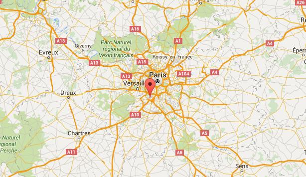 Les arrestations ont été effectuées en gare TGV de Massy, dans l'Essonne - DR : Google Maps