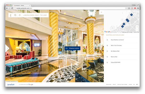 Une visite immersive - (c) Jumeirah Group