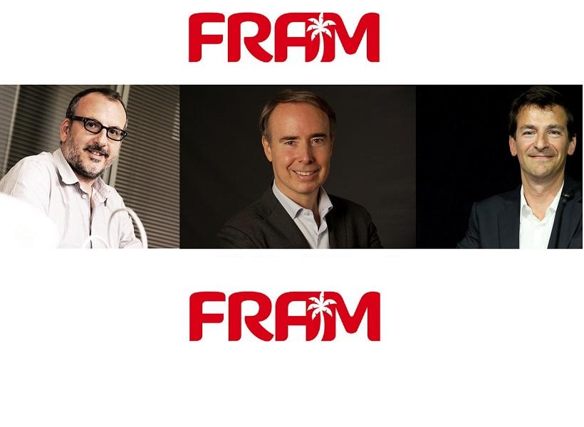 De gauche à droite : Bernard Bensaïd (DocteGestio), Olivier Kervella (NG Travel) et Alain de Mendonça (PromoVacances), les trois candidats à la reprise de FRAM - DR
