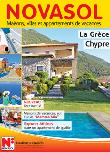 Novasol lance une nouvelle brochure dédiée à la Grèce et à Chypre pour 2016 - DR : Novasol