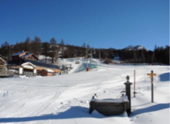 Montgenèvre ouvre 4 pistes et 3 remontées mécaniques dès le 28 novembre 2015 - Photo DR