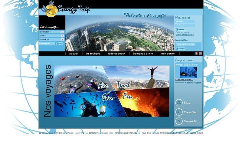 Le site Energy-trip.fr