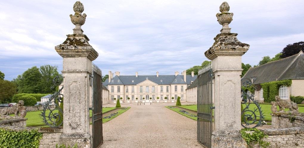 Cour d'honneur du Château d'Audrieu