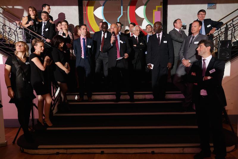 Le courtier Avico a rassemblé tous ses partenaires pour sa grande soirée annuelle jeudi 3 décembre 2015 - DR : Avico © David Morganti