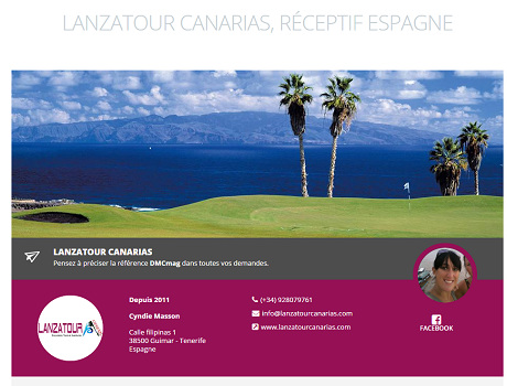 Espagne : Lanzatour Canarias rejoint les réceptifs de DMCMag.com