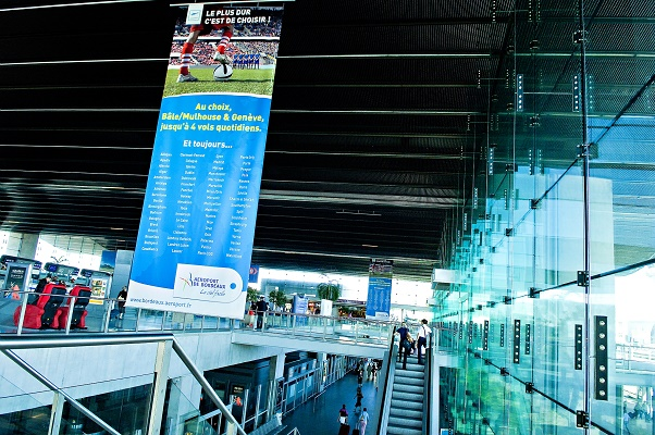 L'aéroport de Bordeaux a gagné un million de passagers en 4 ans - Photo : Aéroport de Bordeaux