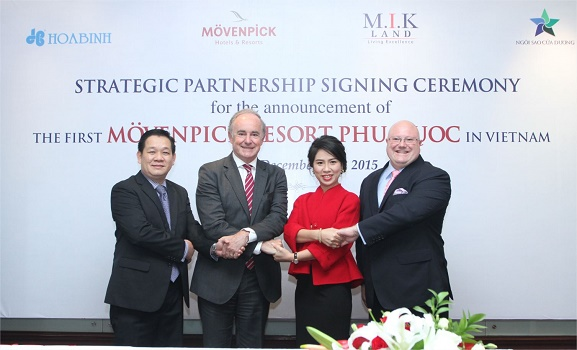 Mövenpick Hotels & Resorts a signé contrat de gestion avec Ngoi Sao Cua Duong Joint Stock Company - Photo : Mövenpick Hotels & Resorts