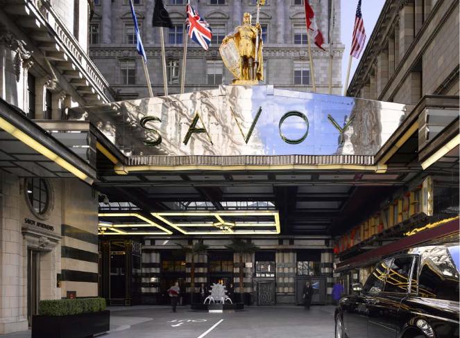 L'hôtel le Savoy à Londres - Photo DR