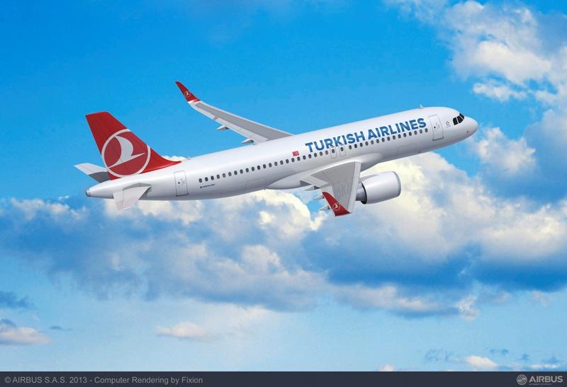 Les avions de Turkish Airlines bientôt aux couleurs de l'Euro 2016. DR-LAC