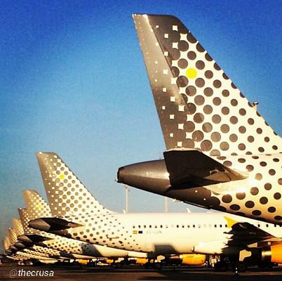 Vueling volera entre Malaga et Marseille pendant la saison estivale 2016 - Photo : Instagram @thecrusa