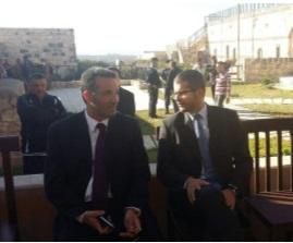 M. David Bertolotti et Nayef Al-Fayez, Ministre du Tourisme et des Antiquités de Jordanie - DR