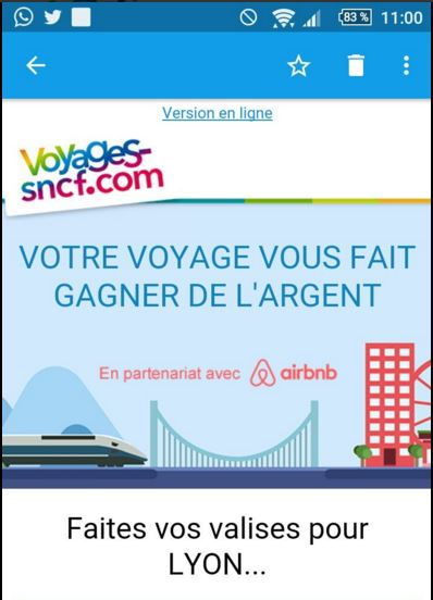 Tourisme collaboratif : Voyages-sncf.com s'associe à Airbnb