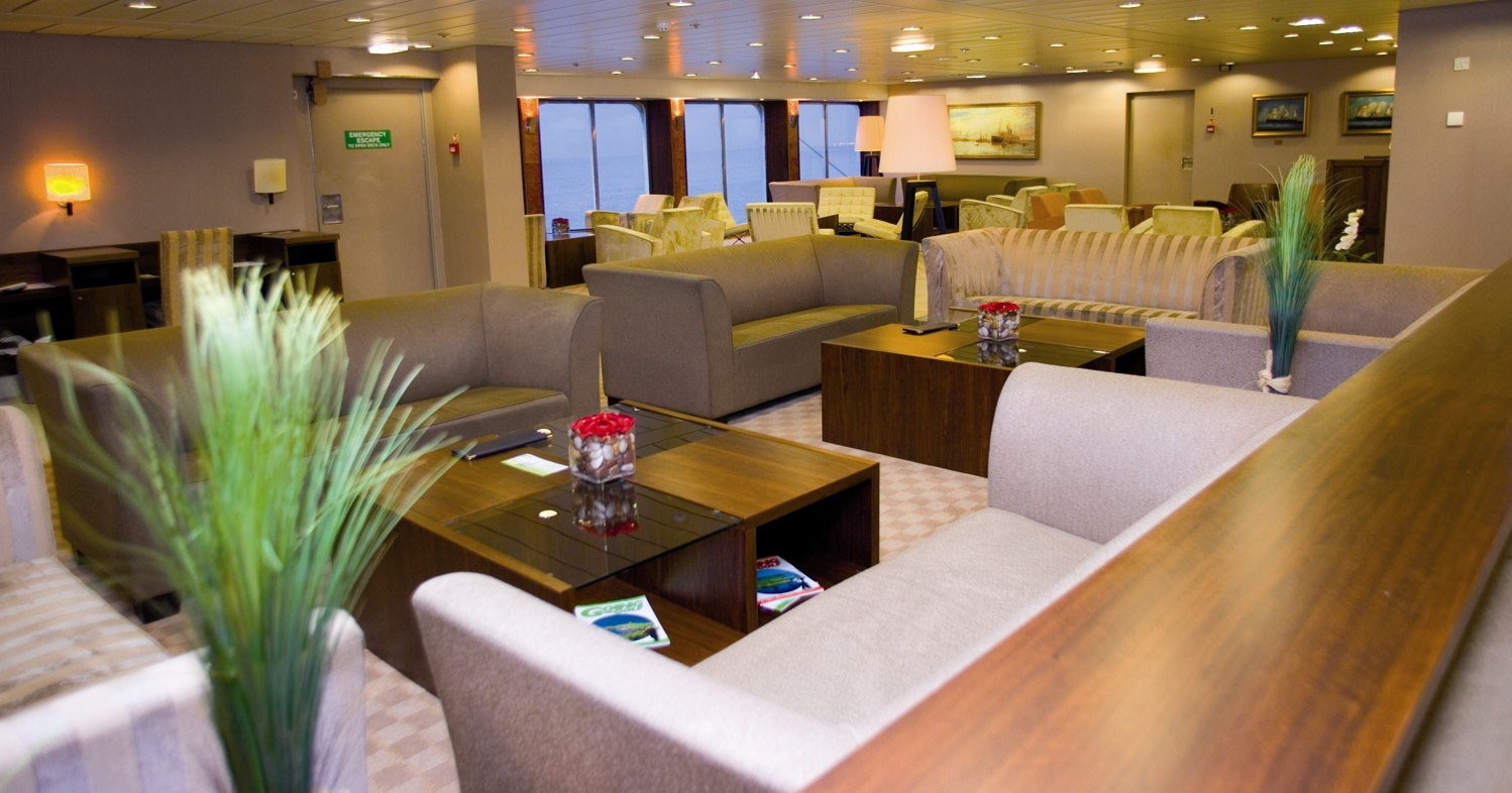 "Le ""Lounge"" du Pride of Kent - Photo P&O"