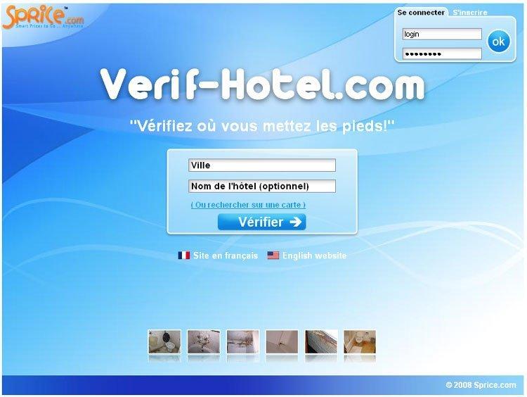 Sprice.com lance Verif-hotel.com