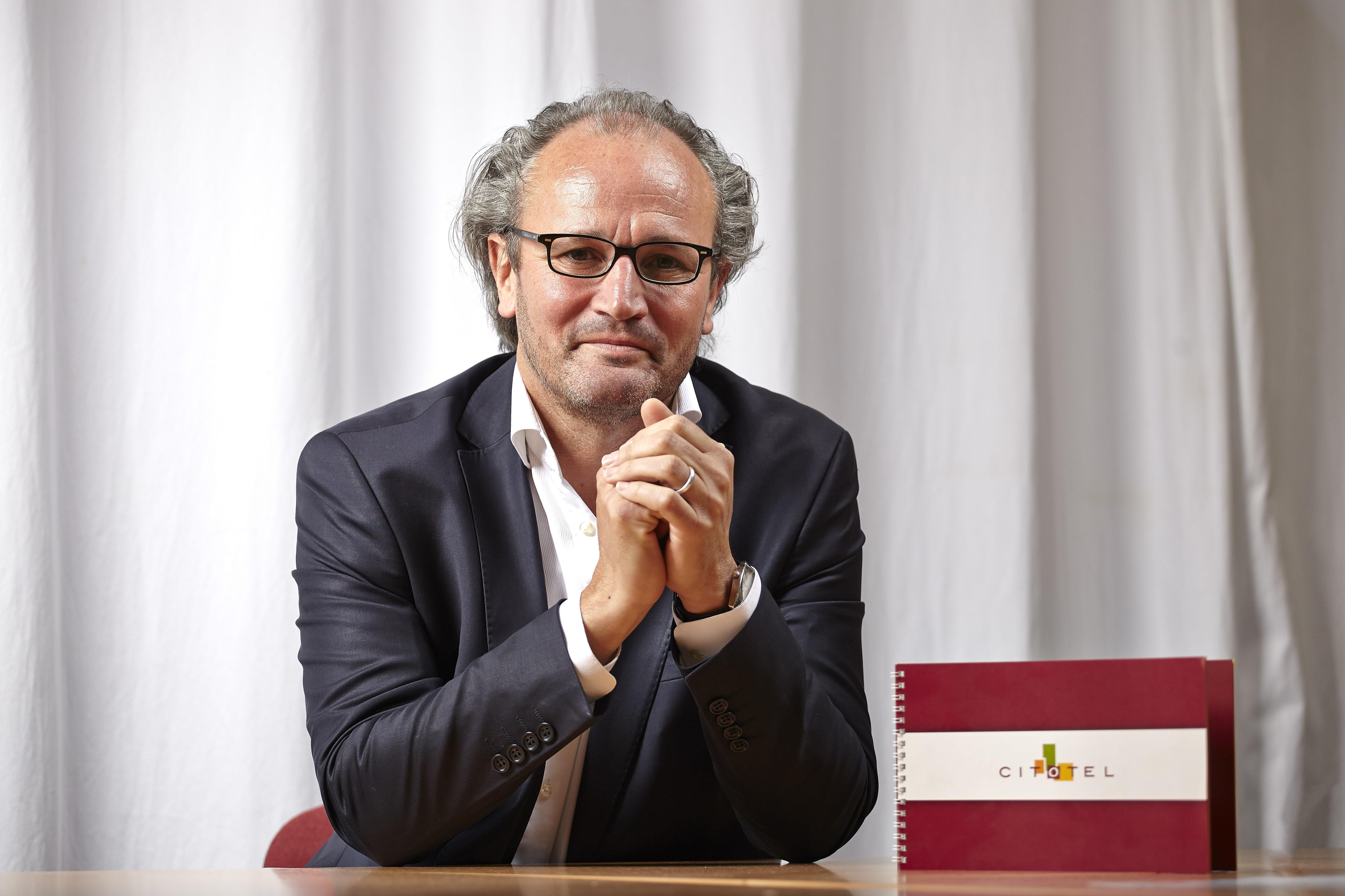 Pascal Macé, PDG du groupement hôtelier Citotel, qui regroupe 4 labels distincts - DR : Citotel
