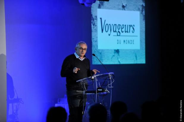 Jean Francois Rial, PDG de Voyageurs du Monde - (c) Alexandre Nestora