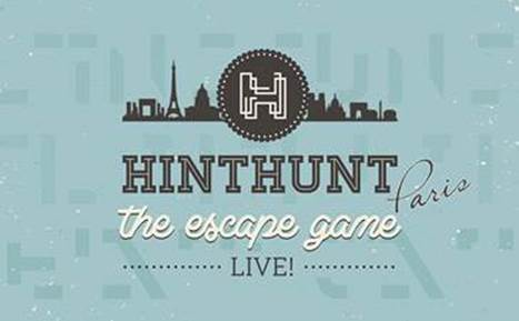 """HintHunt®, le 1er """"Live Escape Game"""" français ouvre son 3ème scénario à Paris"""