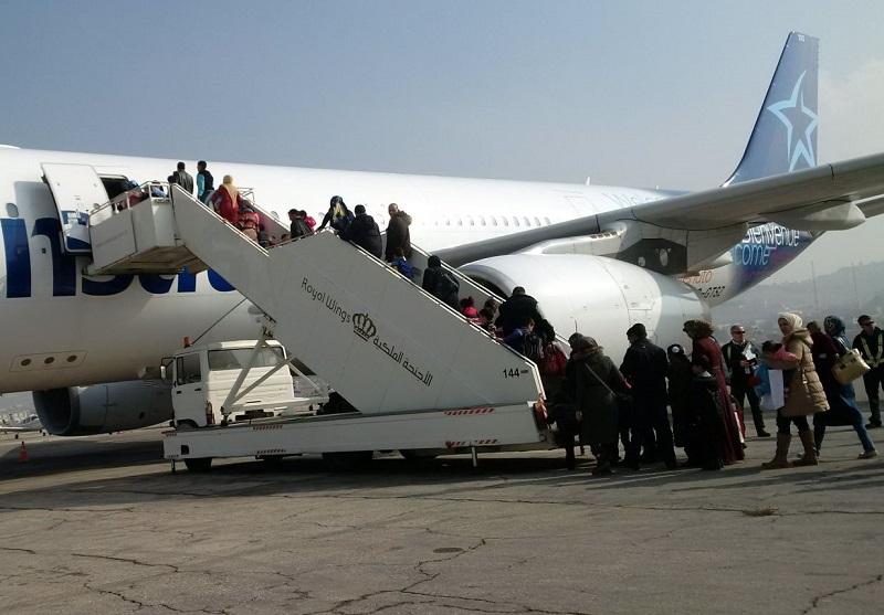 Air Transat transporte 207 réfugiés syriens vers le Canada