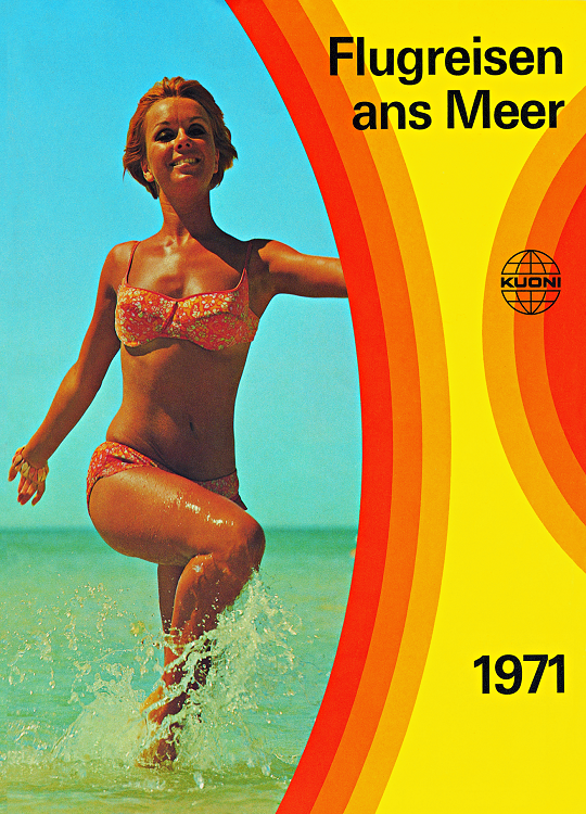 Brochure Kuoni Zurich, 1971 - Photo Kuoni DR