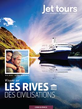 Jet tours sort sa première brochure spéciale croisière pour l'été 2016 - DR : Jet tours