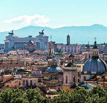 Rome interdit les voitures pour lutter contre la pollution - Photo : Instagram turismoromaweb