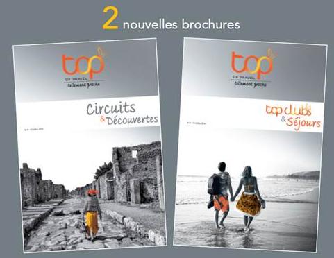 Les deux nouvelles brochures Top Of Travel - DR