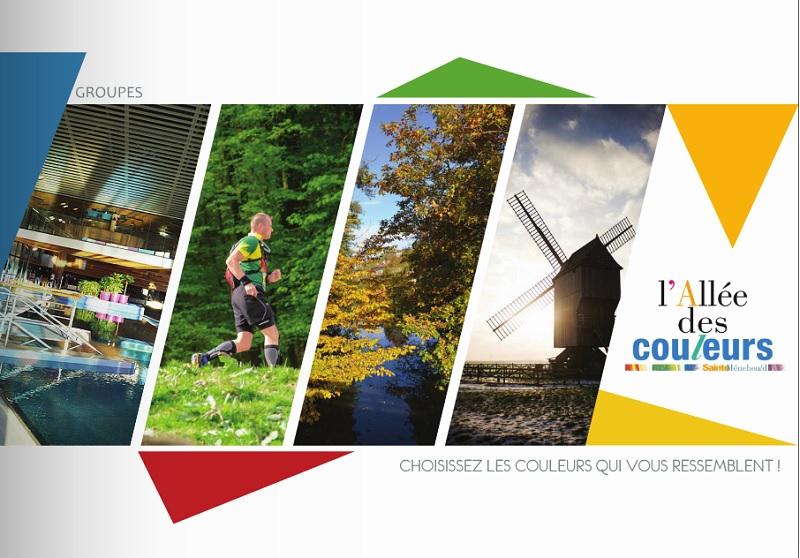 La brochure Groupes/CE est sortie le 29 décembre 2015 - DR : Allée des Couleurs