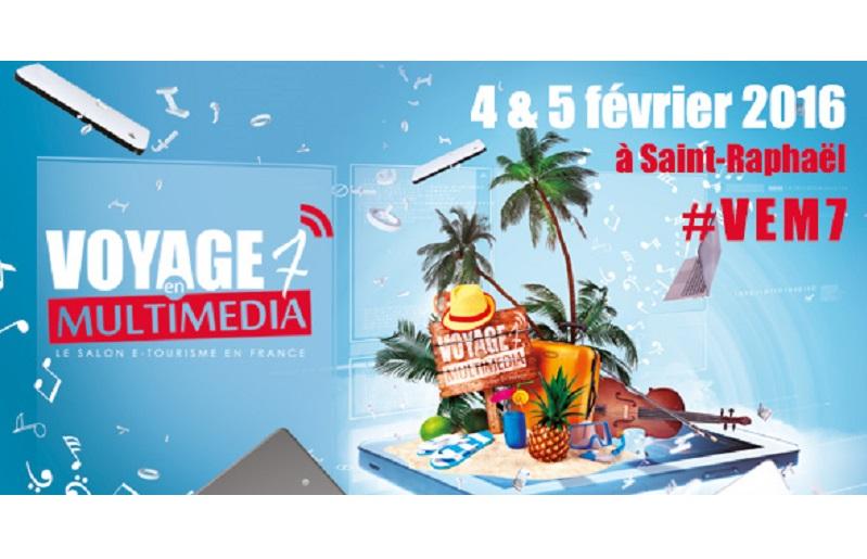 Voyage en multimédia : Le salon e-Tourisme en France, les 4 et 5 février 2016