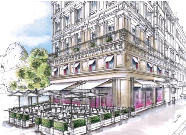 Le futur hôtel Fauchon  - Photo DR