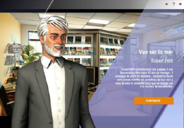 La deuxième version de Mango Game est disponible depuis octobre 2015 - DR : Selectour Afat