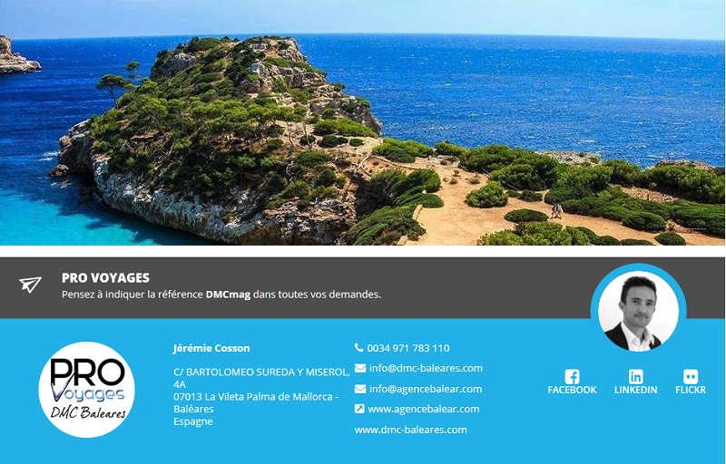 Baléares : Pro Voyages fait son entrée sur DMCMag.com