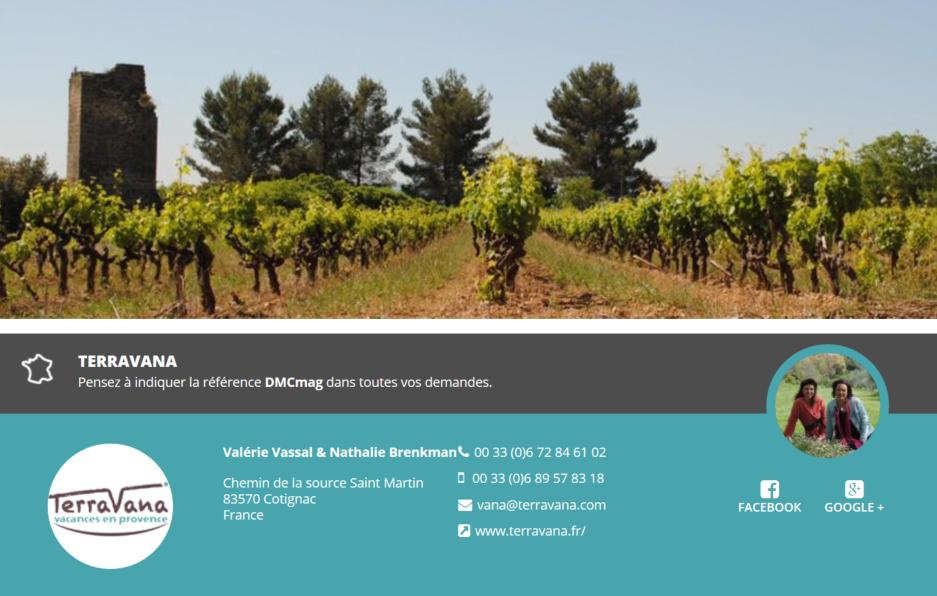 Terravana est spécialisé sur l'arrière pays Varois en Provence - DR