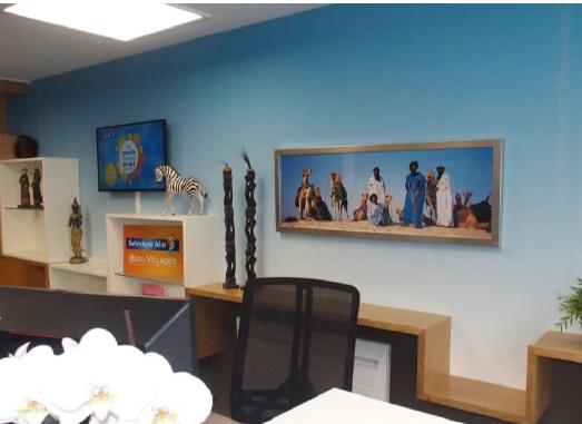 L'ouverture de l'agence Selectour Afat Bleu Voyages à Clermont-Ferrand a permis l'embauche de six personnes - Photo : Bleu Voyages