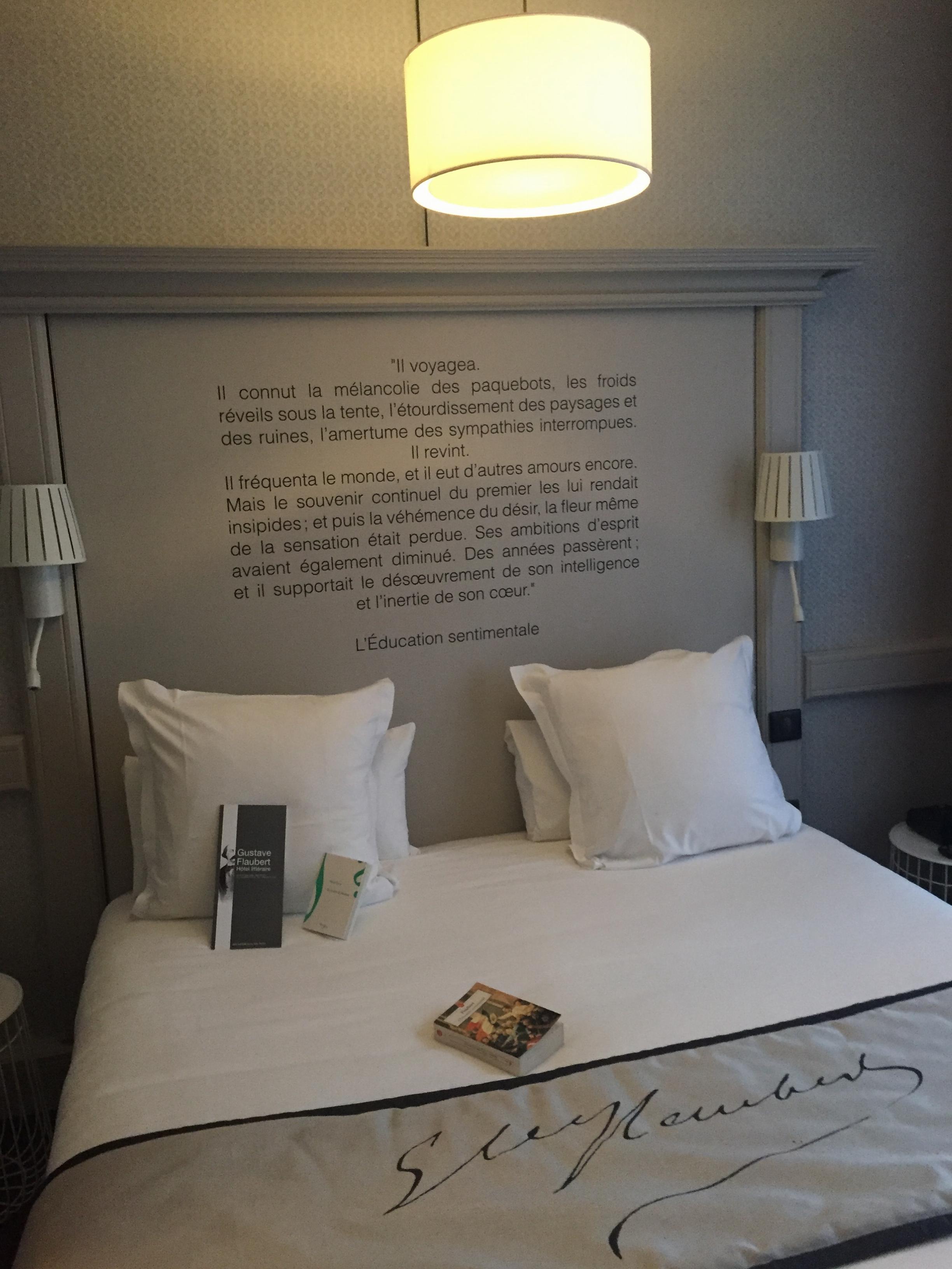Chambre Louise-Hôtel littéraire Gustave Flaubert à Rouen