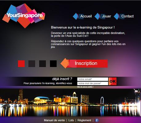 L'e-leaning de Singapour se déroule jusqu'au 31 décembre 2016 - Capture d'écran