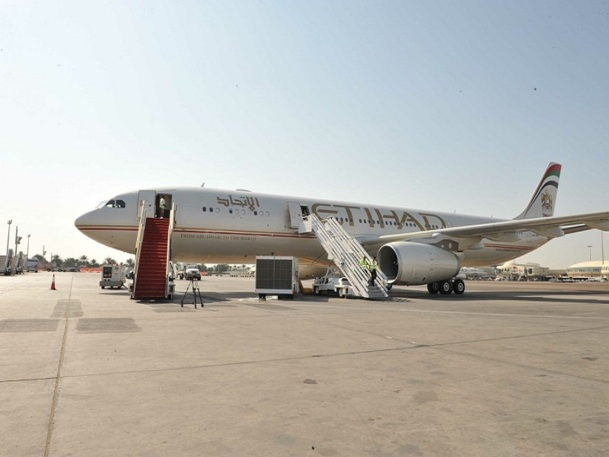 Etihad Airways : le trafic passagers bondit en 2015 (+17%)