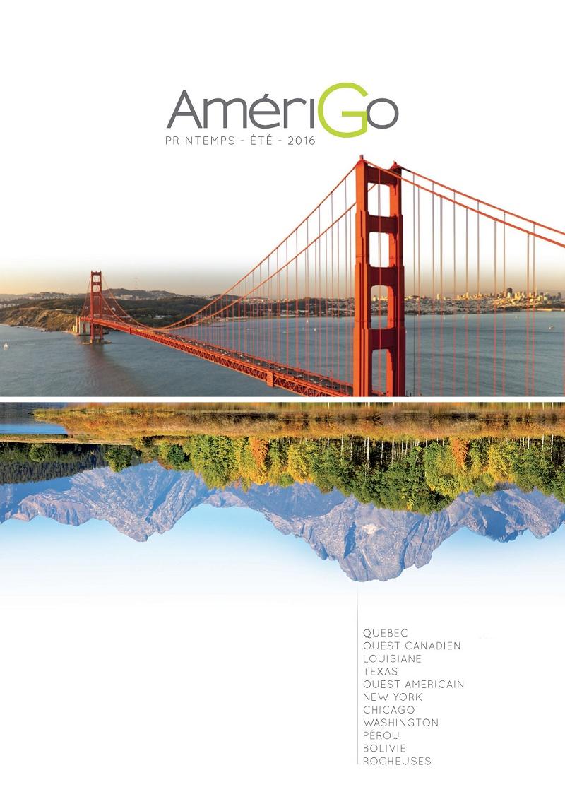 AmériGo intègre le Canada à sa brochure Printemps-Été 2016