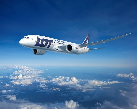 LOT Polish Airlines vole désormais trois fois par semaine entre Varsovie et Tokyo - Photo : LOT Polish Airlines