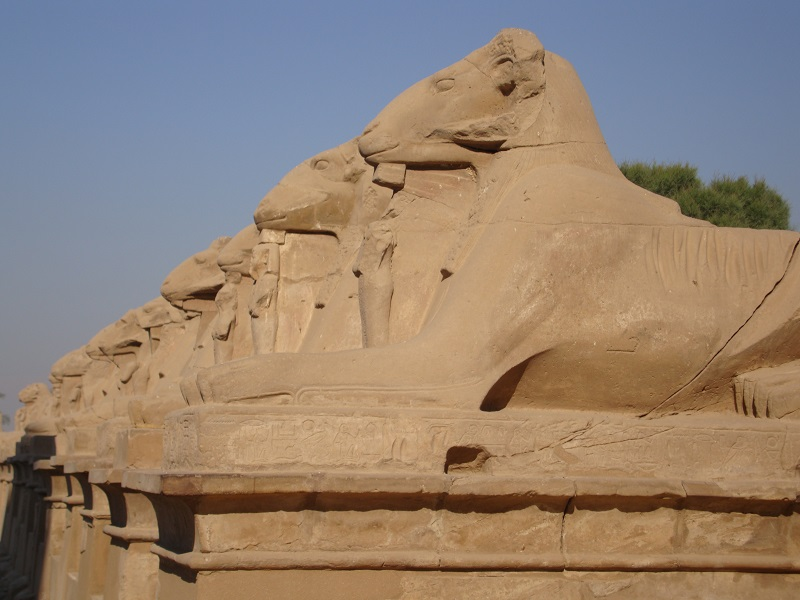 Le temple de Karnak en Egypte - Photo CE