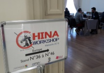 Workshop organized at the Pharo, in Marseille, with 70 Chinese TOs attending and 120 professionals from the PACA region - Photo CE