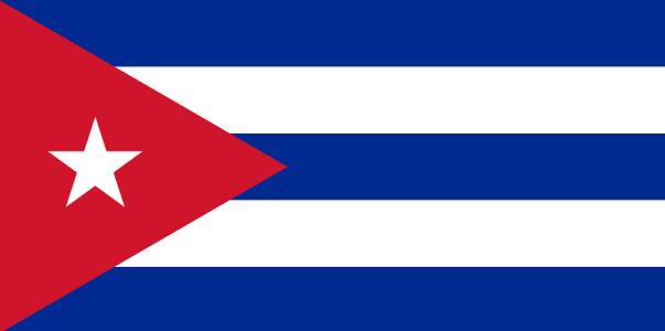 Drapeau de Cuba - Dr : Wikipedia