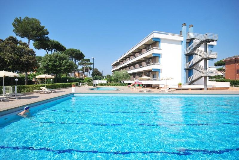 Hotel Vi River avec sa piscine - Photo DR