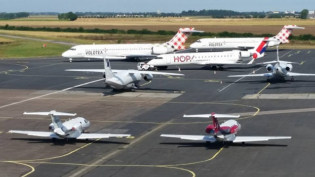 Le nombre de passagers gagne 12 % à l'aéroport de Caen-Carpiquet en 2015 - Photo : Aéroport Caen-Carpiquet