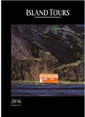 La couverture de la brochure Printemps-Été 2016 d'Island Tours - DR : Island Tours