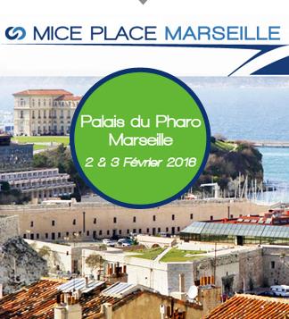 Le MICE Place se déroulera au Palais du Pharo les 2 et 3 février 2016 - DR : MICE Place