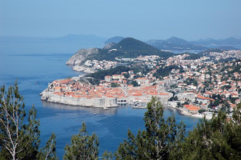 La région côtière croate la plus visitée en 2015 est la Dalmatie.La ville de Dubrovnik en Croatie - Photo CE